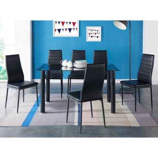table manger 4 6 personnes contemporain en mtal 211