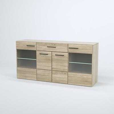 combino buffet contemporain en bois agglom r d co discount s n gal. Black Bedroom Furniture Sets. Home Design Ideas