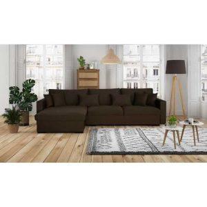 malma canapé d'angle réversible 5 places