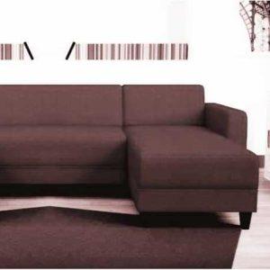 disponible en noir,rouge,gris,marron et taupe nazaré canapé angle réversible kulma 5 places – tissu en forme de u
