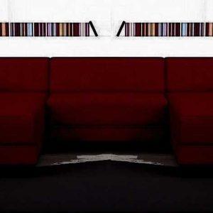 disponible en noir,rouge,gris,marron et taupe  nazaré 5 places – tissu en forme de u